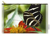 Zebra Longwing 2 Carry-all Pouch