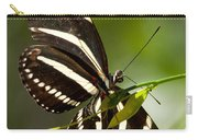 Zebra Longwing 3 Carry-all Pouch