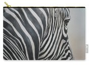 Zebra Look Carry-all Pouch