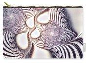 Zebra Phantasm Carry-all Pouch