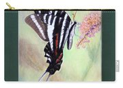 Zebra Swallowtail Butterfly By George Wood Carry-all Pouch