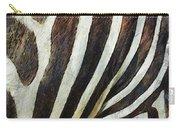 Zebra Texture Carry-all Pouch by Ayse Deniz