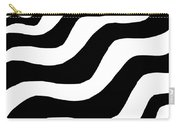 Zebra Waves Carry-all Pouch