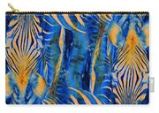Zebras Abstracted Carry-all Pouch