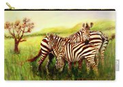 Zebras At Ngorongoro Crater Carry-all Pouch