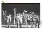 Zebras From Behind Carry-all Pouch
