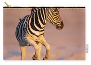 Zebras Jump From Waterhole Carry-all Pouch