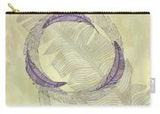 Zen Feather Circle I I I Carry-all Pouch