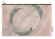 Zen Feather Circle I Carry-all Pouch