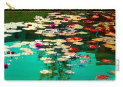 Zen Garden Water Lilies Pond Serenity And Beauty Lily Pads At The Lake Waterscene Art Carole Spandau Carry-all Pouch