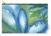 Zen Leaves Carry-all Pouch by Linda Woods