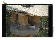 Zen Rocks In Balance Carry-all Pouch