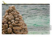 Zen Rocks In Paradise Carry-all Pouch