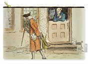 Zenger And Bradford, 1730s Carry-all Pouch