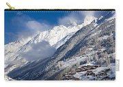 Zermatt Mountains Carry-all Pouch by Brian Jannsen