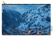Zermatt - Winter's Night Carry-all Pouch by Brian Jannsen