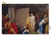 Zeuxis Choosing His Models For The Image Of Helen From Among The Girls Of Croton Carry-all Pouch