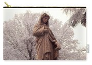 Ziba King Memorial Statue Front View Florida Usa Near Infrared Se Carry-all Pouch