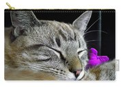 Zing The Cat Sleeping Carry-all Pouch