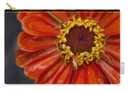 Zinnia In The Rain Carry-all Pouch