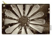 Zinnia Monochrome Carry-all Pouch