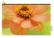 Zinnia On A Brilliant Spring Day Carry-all Pouch