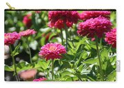 Zinnia Palooza Carry-all Pouch