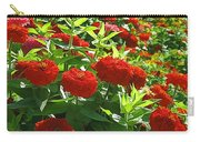 Zinnia Patch-4 Carry-all Pouch