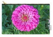 Zinnia - Pink Carry-all Pouch