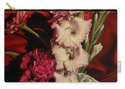 Zinnias And Gladiolas Carry-all Pouch