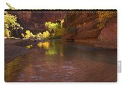 Zion Canyon Of The Virgin River Carry-all Pouch