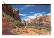 Zion Mount Carmel Highway Carry-all Pouch