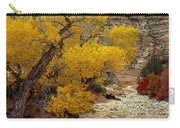 Zion National Park Autumn Carry-all Pouch