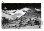 Zion National Park In Black And White Carry-all Pouch