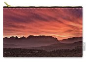Zion National Park Panoramic Carry-all Pouch