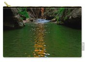 Zion Reflections - The Narrows At Zion National Park. Carry-all Pouch