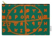 Zodiac Killer Code And Sign 20130213p28 Carry-all Pouch