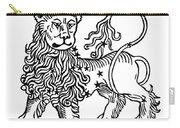 Zodiac Leo, 1482 Carry-all Pouch