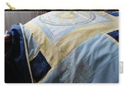 Zodiac Patchwork Quilt Carry-all Pouch by Barbara Griffin