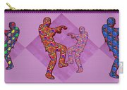 Zombie Funny Comic Cartoons Dance Zombie Dance Grand   36x12 Horizontal Landscape Energy Graphics Ba Carry-all Pouch
