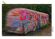 Zooming Graffiti Bus Carry-all Pouch