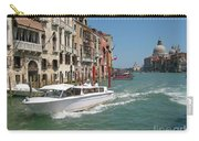 Zooming On The Canals Of Venice Carry-all Pouch