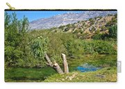 Zrmanja River And Velebit Mountain Carry-all Pouch