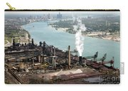 Zug Island Industrial Area Of Detroit Carry-all Pouch