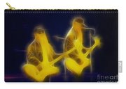 Zz Top-ant-ge8a-fractal Carry-all Pouch
