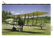 1916 Royal Aircraft F.e.8 World War One Airplane Photo Poster Print Carry-all Pouch