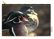A Couple Of Wood Ducks Carry-all Pouch