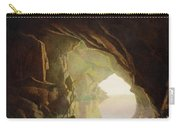 A Grotto In The Gulf Of Salerno - Sunset Carry-all Pouch