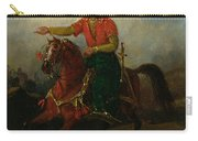 An Ottoman On Horseback  Carry-all Pouch
