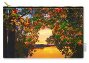 Autumn Leaves A View Carry-all Pouch